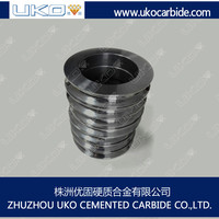 wire straightening rollers made of tungsten carbide or steel material