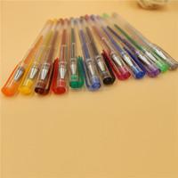 classic gel ink pen/ smooth writing 6/8/10/12/24/30/36/48pcs glitter metallic neon pastel,rainbow gel pen/ gel pen set/color pen