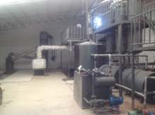 High efficient used oil refinery into diesel with CE