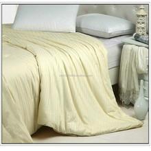 2015 fashion design comforter satin stripe bed sheets 3d bedding set ( Fill 1 kg)