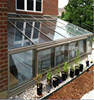 Clear insulated glass panels for sunroom double glass windows