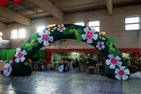 Artificial Outdoor Inflatable Arch led Flower for decoration