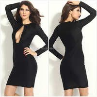 New big-name fashion explosion milk Dress Slim sexy ladies dress mini dress