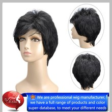 Many colors Wig , hair,Fashion Short Curl Natural Synthetic Wig
