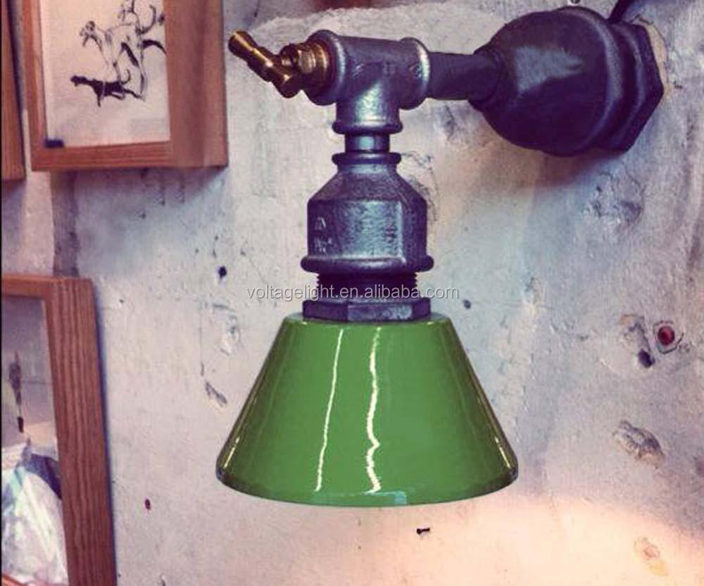 Lampada Vintage Da Parete : Decorative industriali vintage lampada da parete tubo di acqua
