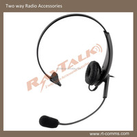 high quality noise cancelling call center lightweight headset with mic RHS-02
