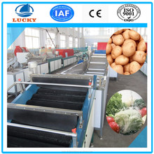 Top China manufacturer fruit and vegetable processing line fully automatic washing machine