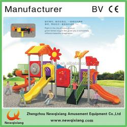 kids wooden playground/play sets wooden slide/nursery school outside playground