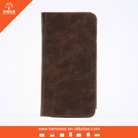 Genuine leather protective phone case for iphone 6