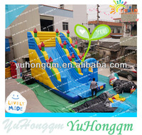 2014 Popular Trampoline Slide Inflatable Sliding For Kids Play Land In Amusement Park Or Rental Inflatable Products