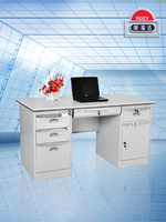2015 Luoyang hot sale steel executive office desk with drawer