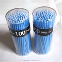 Flexible Suitable For Dental Work Disposable Micro Brush Applicators