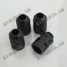 Ccorrugated Felxible Conduit Connector Nylon Conduit Quick Connectors