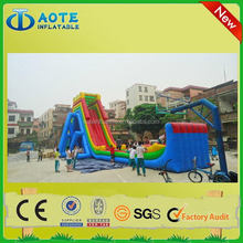 Top quality best sell hot sale octopus inflatable water slide
