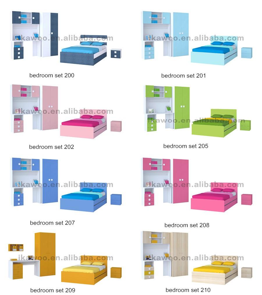 청소년 침실 싱글 침대 세트-어린이 가구 세트 -상품 ID:1601489853 ...