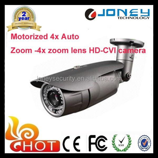 Alibaba Stock Price Motorized Zoom Lens Cctv Hd Cvi Camera