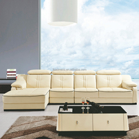 contemporary raw leather / round leather sofa / recliner sofa disassembly