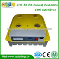 JN7-56 mini incubadora de huevos semi automático