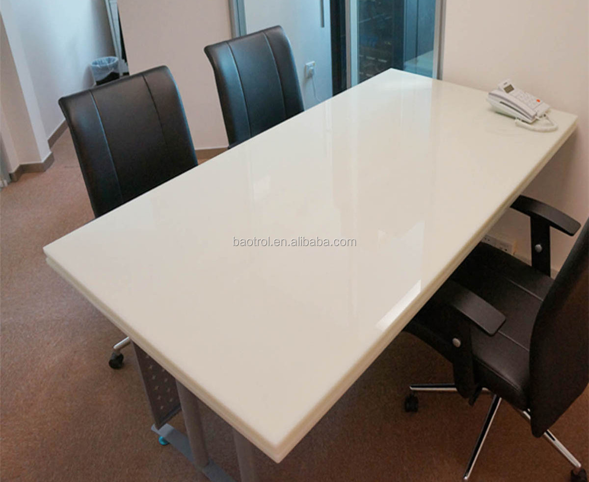 Modern Office Acrylic Solid Surface Conference Tablemarble Meeting - Small boardroom table
