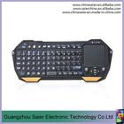 Alta qualidade portátil mini teclado bluetooth com touchpad para ipad / iphone