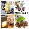 Matriz plana máquina de pellets de aserrín / madera precio de la máquina