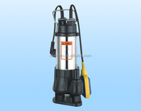 V750F low pressure Garden float switch submersible sewage and effluent pumps