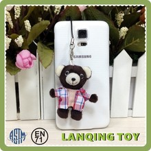Wholesale Mini Plush Teddy Bear Key Chain Pendant