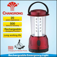 Fashion design high power led camping lantern with solar sresky for outdoor emergency & with USB