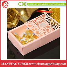 Art Paper Matchbox Style Candy Box Gift Box Birthday Party Health Food Packaging Box