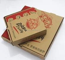 Customized pizza packing boxes with logo printing