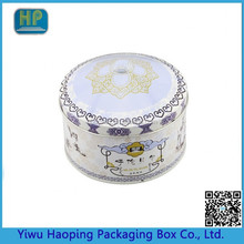 Hot Saling Fashional Round Tin Candy/Gift/Storage Packing Can