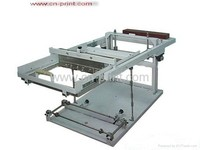 china Manual operateing cylinder screen printing machine for plastic bottles cup