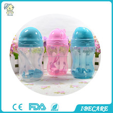 EN71 approval medical grade kids drinking bottle 330ML 11oz baby training cup with sipper