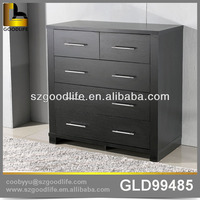 Bedroom wooden storage cabinet chest with drawers for clothes