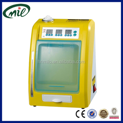 Dental supply oil lubrication system/automatic lubrication system