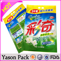 yason plastic packaging bags for fish small plastic carry bags with curve top handle laminated plastic film for food packing