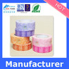 lovely design printed washi stationery tape for decoration