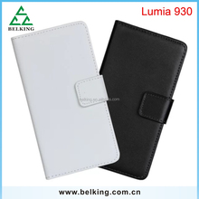 Card slot wallet for Nokia cases, for Nokia Lumia 930 stand leather case