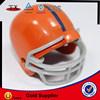 nice metal blank Football helmet keychain /engraving metal baseball cap keyring / fashion metal printing key holder