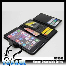 PU Leather Wallet Card Slots cell phone Case for iphone 6s