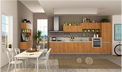 China manufacture Natural mdf kitchen furniture cabinet
