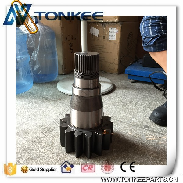 excavator JS220 LC swing gearbox shaft JS220 swing vertical shaft for JCB (5).jpg