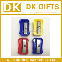 Custom design plastic cosmetic pencil sharpener
