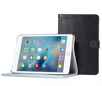 Luxury Business Flip Wallet Card Stand Case For iPad Mini 4 Leather Smart Cover, flip tablet PU leather case for ipad mini 4