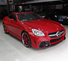Wald Style R172 Auto Body Kits For Mercedes BENz 2012 13 14 R172 SLK200 300 350