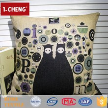 Creative Hot Sale Fashion Owl Printing Designs Cushion Home Decor Cushion,Novelty French Aubusson Tapestry