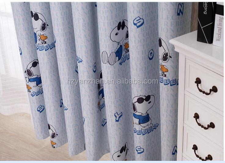 Novos produtos quentes para 2015 respirável comprar estoque cortina de tecido de pelúcia tecido de impressão