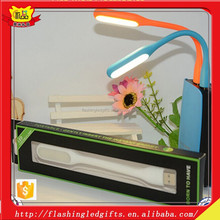 Unique promotion item mini novetly portable light 2015 new popular items as a gifts for kids led mini lamp with mirco port