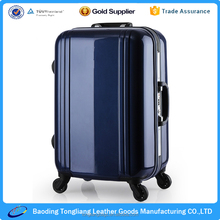 stock universal luggage suitcase 3pcs abs spinner 4 wheels