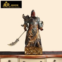 Chinese style decoration Guan Gong bronze sculpture